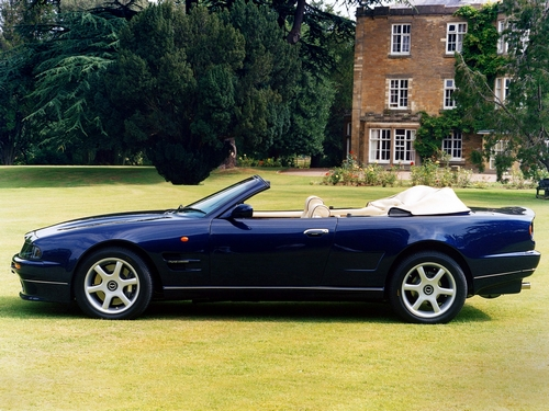 Aston Martin V8 Descapotable (Cabrio) 1997 - 2000