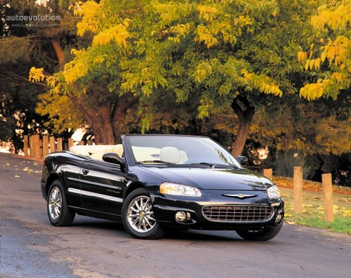 Chrysler Sebring Descapotable (Cabrio) 2001 - 2002