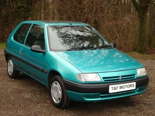 Citroen Saxo Hatchback 1996 - 2003