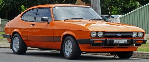 Ford Capri Hatchback 1984 - 1987