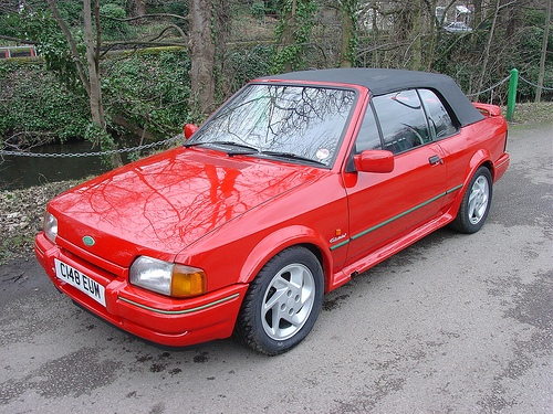 Ford Escort Descapotable (Cabrio) 1985 - 1990