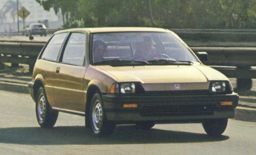 Honda Civic Familiar 1984 - 1988