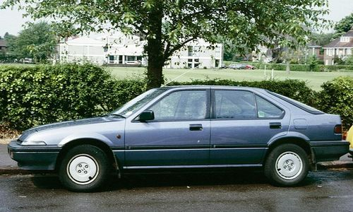 Honda Integra Hatchback 1986 - 1989