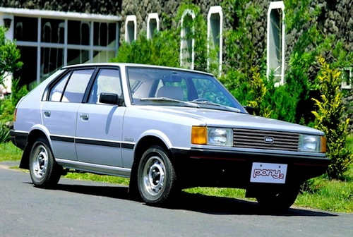 Hyundai Pony Hatchback 1985 - 1991