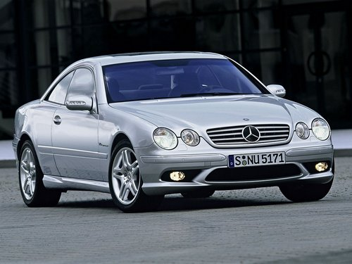 Mercedes-Benz CL Cupé 2000 - 2005