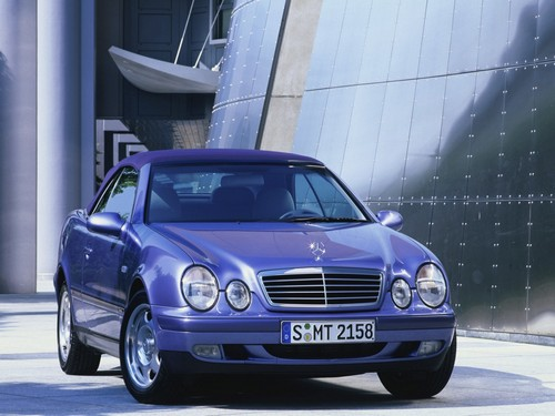 Mercedes-Benz CLK Descapotable (Cabrio) 1998 - 2003