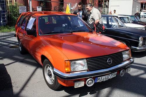 Opel Commodore Voyage Familiar 1979 - 1982