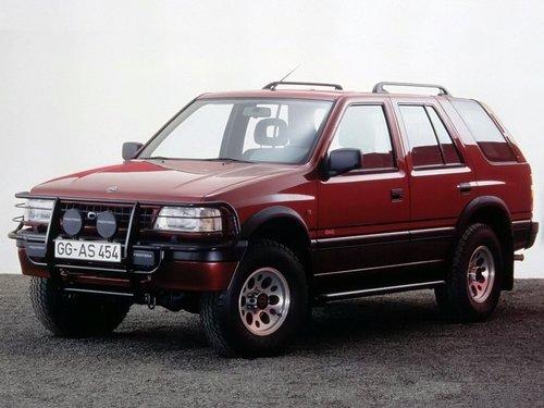 Ficha T 233 Cnica Opel Frontera Modificaciones Y A 241 Os