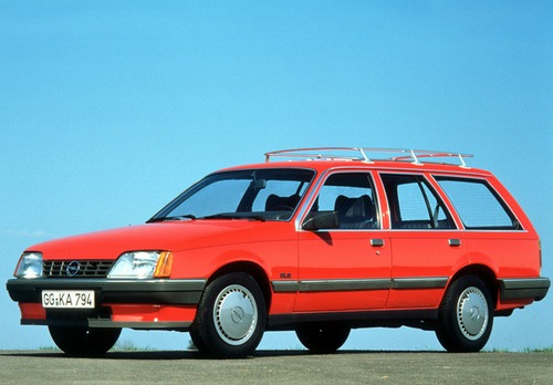 Opel Rekord Caravan  Familiar 1982 - 1984