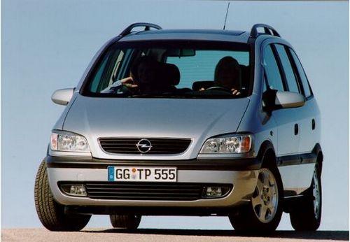 Ficha Tecnica Opel Zafira Modificaciones Y Anos