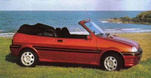 Rover 100 Descapotable (Cabrio) 1995 - 1997