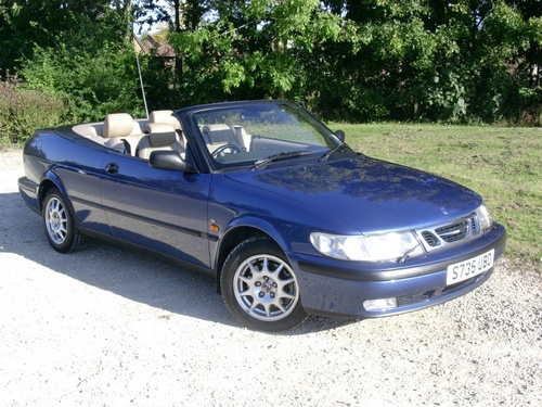Saab 9-3 Descapotable (Cabrio) 1998 - 2003