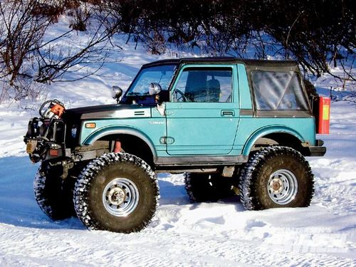 Suzuki Samurai Metal Top  SUV (Todoterreno) 1988 - 1995